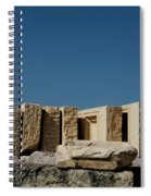 Waiting Tablets At Acropolis Spiral Notebook