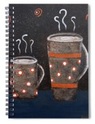 Wake Up And Smell The Coffee Spiral Notebook