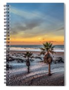 Wake Up For Sunrise In California Spiral Notebook