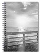 Waking Coast Spiral Notebook