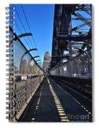 Walk Across Sydney Harbour Bridge Spiral Notebook