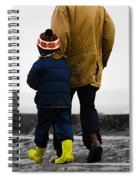 Walk Alongside Me Daddy Spiral Notebook