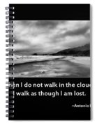 Walk In The Clouds Spiral Notebook
