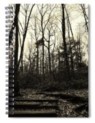 Walk Into Nature Spiral Notebook