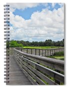 Walk On Wetlands Spiral Notebook