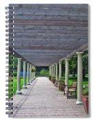 Walk The Path Spiral Notebook