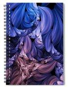 Walk Through The Petals Abstract Spiral Notebook