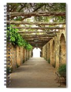 Walk To The Light Spiral Notebook