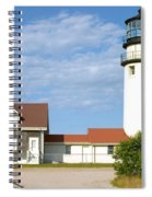 Walk To The Lighthouse Spiral Notebook