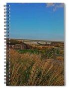 Walk To Wall Spiral Notebook
