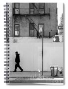 Walk Walk. New York. Spiral Notebook