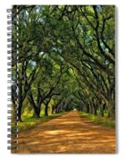 Walk With Me Paint Version Spiral Notebook