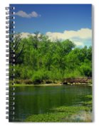 Walk With Me To The Other Side Spiral Notebook