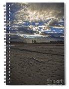 Walked Over Memories Spiral Notebook
