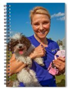 Walkies Spiral Notebook