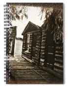 Walking Backwards Spiral Notebook