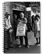 Walking Billboard Nevada Club Reno Nevada 1977 Spiral Notebook