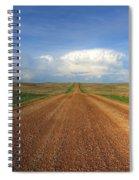 Walking Down Savageton Road Spiral Notebook