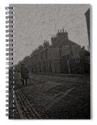 Walking Down The Street Spiral Notebook
