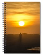Walking In The Sunrise Spiral Notebook
