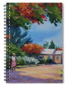 Walking In The Sunshine Spiral Notebook
