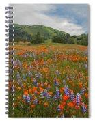 Walking In The Wildflowers Spiral Notebook