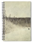 Walking Luna Spiral Notebook