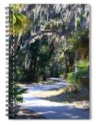 Walking Path Spiral Notebook