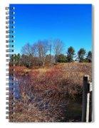 Walking The Bridge Spiral Notebook