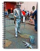 Walking The Gator Bourbon St. Nola Spiral Notebook
