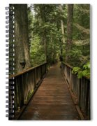 Walkway Into Paradise Spiral Notebook