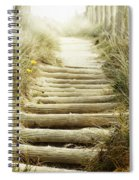 Walkway To Beach Spiral Notebook