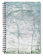 Wall Abstract 10 Spiral Notebook