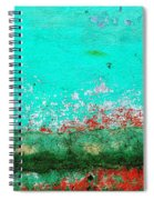 Wall Abstract 111 Spiral Notebook