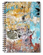 Wall Abstract 124 Spiral Notebook
