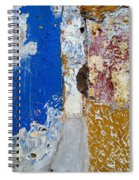 Wall Abstract 142 Spiral Notebook