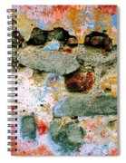 Wall Abstract 15 Spiral Notebook