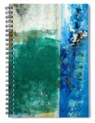Wall Abstract 159 Spiral Notebook