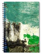 Wall Abstract 166 Spiral Notebook