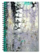Wall Abstract 20 Spiral Notebook
