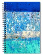 Wall Abstract 23 Spiral Notebook