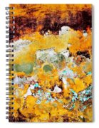 Wall Abstract 28 Spiral Notebook