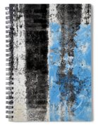 Wall Abstract 34 Spiral Notebook