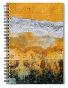 Wall Abstract 36 Spiral Notebook