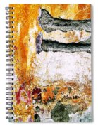 Wall Abstract 62 Spiral Notebook