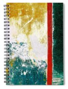 Wall Abstract 71 Spiral Notebook