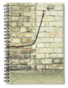 Wall And Wire Spiral Notebook