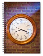 Wall Clock 1 Spiral Notebook