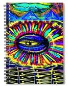 Wall Flower 30x30 Spiral Notebook