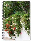 Wall Flowers Spiral Notebook